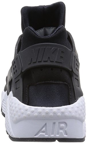 white Nike Black Huarache Zapatillas Air Run Wmns Mujer 006 para Black Negro fwqfvTxg