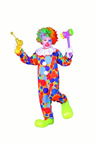 Partyland Polka Dot Clown Child Large (12-14) Costume by RG Costumes