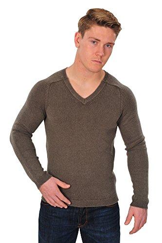 Kangra Pullover Herren Braun 50