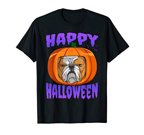 Jack The Bulldog Halloween (Happy Halloween English Bulldog Pumpkin Jack O Lantern)