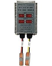 Ktoyols 400W Step-up MPPT Real-time Tracking Function LED Display Solar Power Supplys Battery Recharging Controller 24~85V Output Voltage Adjustable IP66 Waterproof Dustproof Grade Overheating Short C