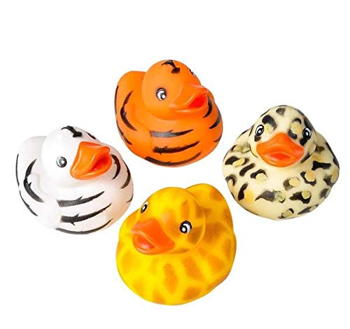 Rhode Island Novelty Safari Rubber Duckies | One Dozen |