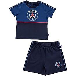PARIS SAINT GERMAIN Ensemble t-Shirt + Short bébé PSG - Collection Officielle