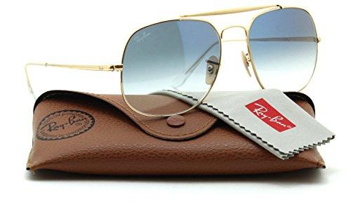Ray-Ban RB3647N ROUND DOUBLE BRIDGE Unisex Sunglasses 001/4O, - Rb3647n