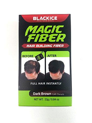 Magic Fiber Hair Building Fiber - Full Hair Instantly - Dark Brown