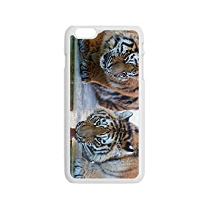 King Of Forest Tiger Hight Quality Plastic Case for Iphone 6