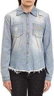 Camisa Jeans Destroyed, Colcci Fun, Meninas