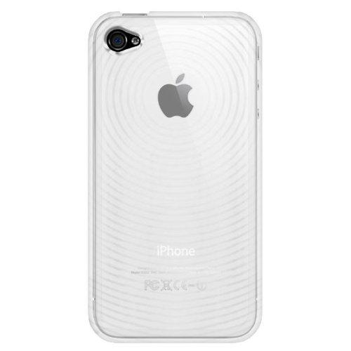 Katinkas KATIP41010 Soft Cover für Apple iPhone 4 Circle klar