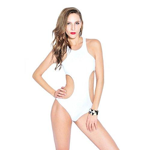 SW99033C2 Nylon Women's Bikini Swimsuit Size L (Baywatch Trunks)