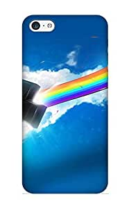 Fashionable Lpzies-4035-kpwsvhg ipod touch4 Case Cover For Blue Abstract Background Protective Case With Design