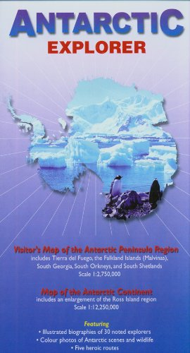 Antarctic Explorer Map; (Ocean Explorer Maps)