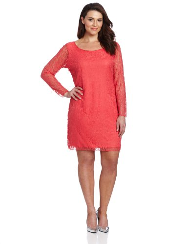 Star-Vixen-Womens-Plus-Size-Lace-Sheath-Dress