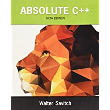 Absolute C++ (6th Edition)