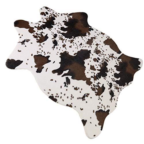 Floor Rugs Polyester Dairy Cow Grain Indoor Area Carpet Anti Slip Doormat Living Room Floor -