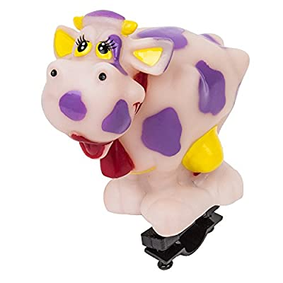 Sunlite Squeeze Horns, Pink Cow by SUNLITE