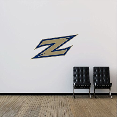 Akron Zips NCAA USA Symbol Logo College Sport Art Wall Decor Sticker 25'' x 13''