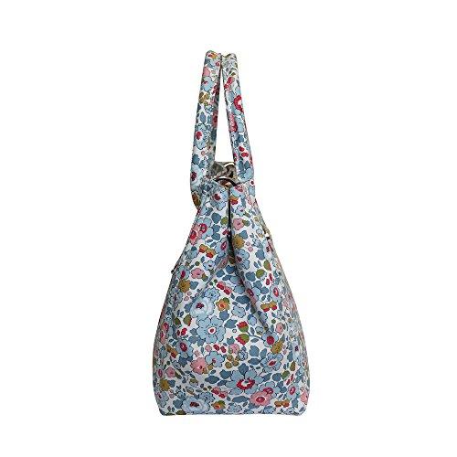 Bonfanti Liberty Betsy Imprimer sac fourre-tout Sac à main épaule - Bleu
