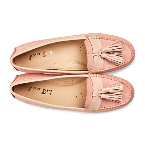 Van Dal Women's Kerby Loafers Pink (Geranium Nubuck) tprsmUN7fG
