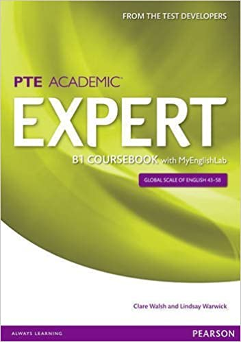 Book Expert Pearson Test of English Academic B1 Coursebook and MyEnglishLab Pack by Clare Walsh (2014-05-29)