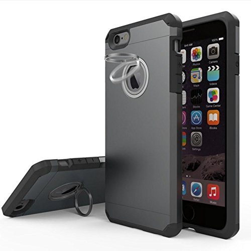 Armour Case with Invisible Stand for Apple iPhone 6 Plus /6s Plus 5.5 - fengus Dual Layer Hybrid