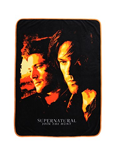 Supernatural Orange Filter Throw Blanket