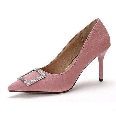 Zormey Tacones Mujer Primavera Verano Otoño Zapatos Club Comfort Fleece Oficina &Amp; Carrera Parte &Amp; Traje De Noche Stiletto Talón Hebilla De Strass Caminando US8 / EU39 / UK6 / CN39