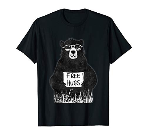 - Free Hugs from Grizzly Bear T-Shirt