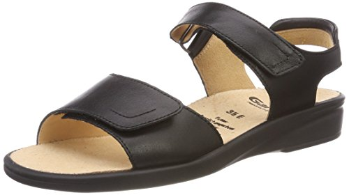 Ganter Women 3-202857-01000 Open Toe Sandals Black (Schwarz 0100) osSaL