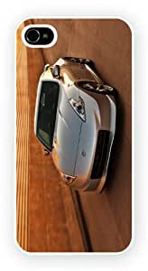 nissan 370Z Z34 Silver, iPhone 5 / 5S glossy cell phone case / skin