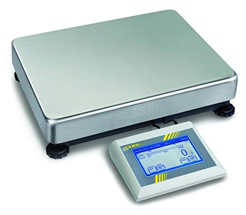 For Demand wiph120l Serie IKT Bilancia a piattaforma, senza omologazione, lunghezza 450mm x 350mm larghezza x 115mm altezza, 120kg scuola di pesaje, 2g graduati