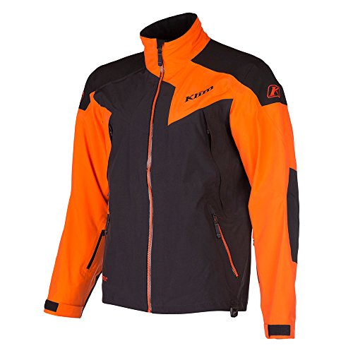 Klim Stealth Men's Ski Snowmobile Jacket - Orange/X-Large