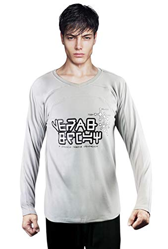 costumebase Star-Lord T-Shirt Starlord Peter Quill GOTG 2 Gardian of The Galaxy klyn Shirt (XL) Grey