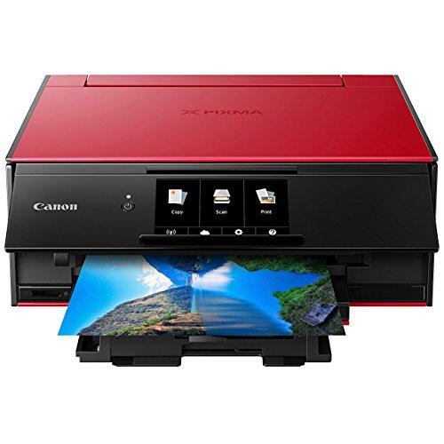 Canon PIXMA TS9120 Wireless All-In-One Printer Red 2231C042