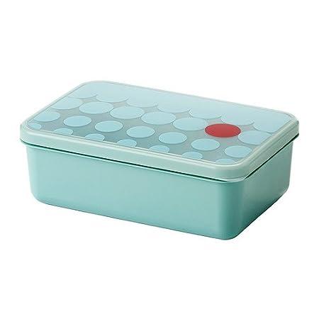 IKEA Kullar - Caja de almuerzo, azul claro - 23x15x8 cm: Amazon.es ...