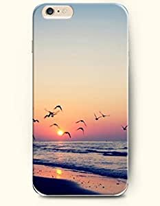 Case For Iphone 5C Cover Sea and BeaHard Back Plastic Phone Cover OOFIT Authentic