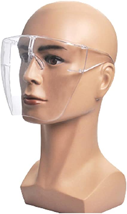 WTYQA Face Cover Designed Fashion Style /& Comfort Face Shield HD Transparent Isolation Protection L