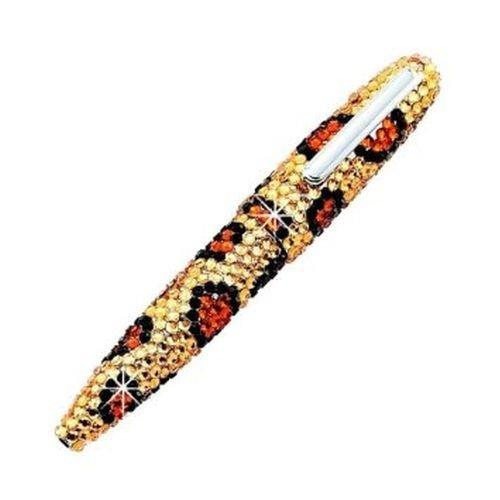 Ball Skins Leopard (Crystal Leopard Skin Ballpoint Pen #03988)