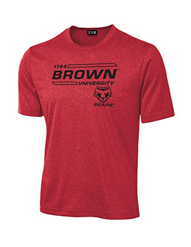 NCAA Brown Bears University Tech Performance T-Shirt, XX-Large, (Brown University Bears)