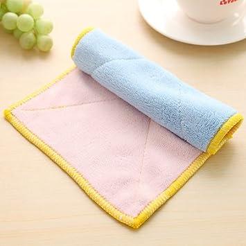 XXAICW Aceite antiadherente plato servilletas de tela tela absorbente grueso coche es de toalla ultra-