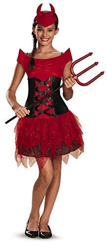 Disguise Dress Up Dolls Devilish Diva Tweens Costume, X-Large (14-16)