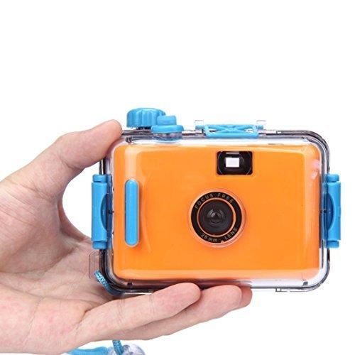 ONEMORES(TM) Underwater Waterproof Mini 35mm Film Camera Purple