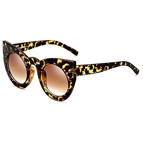 Vintage hibote chat C1 Rond Glasses Femme soleil Lunettes UV400 Sun de de Oeil ORZqUO0