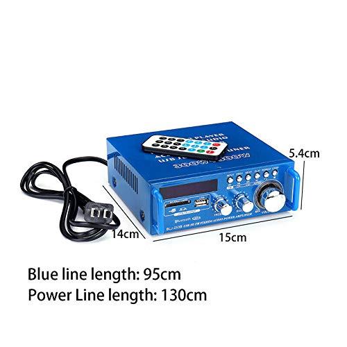 600W 2.0 Kanal Bluetooth Endverst/ärker HiFi Stereo Home Car Digital Bass Amp BT-253 600W