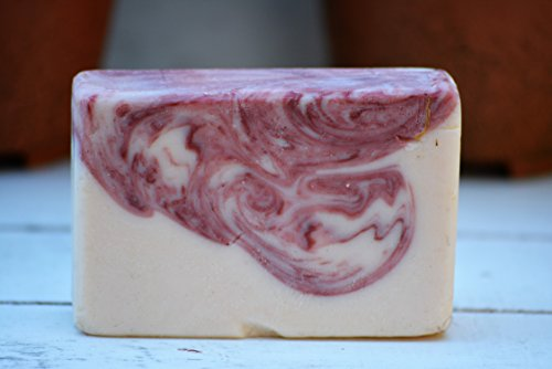 Strawberry-Hemp-Soap-Made-with-All-Natural-Ingredients-Hand-Crafted-in-Small-Batches-Eco-friendly-Bar-is-Free-of-Palm-Oil-Phthalates-Large-65-Ounces-Dragonfly-Design