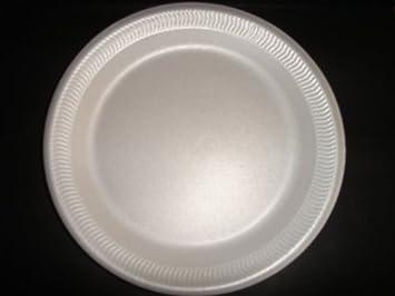 100 x 9 Foam Plates (Disposable Polystyrene Plates) (TP3) (free Pu0026P & Amazon.com: 100 x 9 Foam Plates (Disposable Polystyrene Plates) (TP3 ...