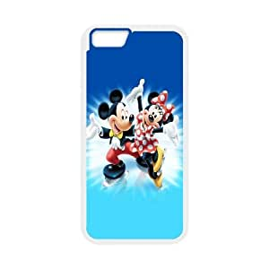 iPhone 6 4.7 Inch Cell Phone Case White Mickey Minnie FY1456021