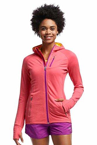 Icebreaker Damen Pullover Jacke Hoodie Quantum Long Sleeve Zip Hood