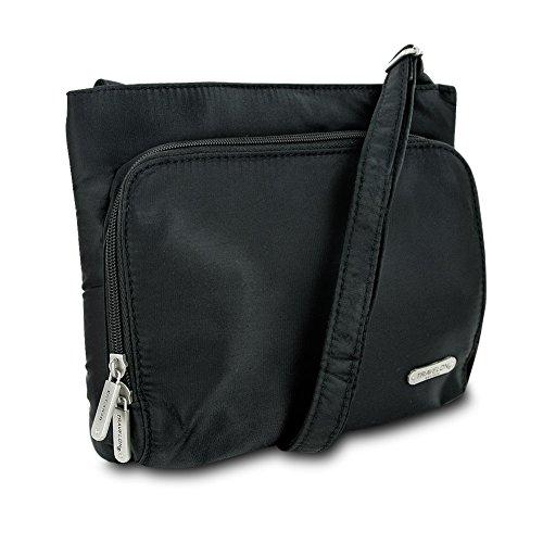 Classic Everyday Hobo - Travelon Classic Hobo Bag (Black)