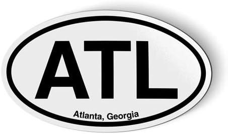 Atlanta sticker Atlanta sports sticker Atlanta Georgia sticker ATL Atlanta Georgia waterproof sticker Atlanta Georgia sports sticker