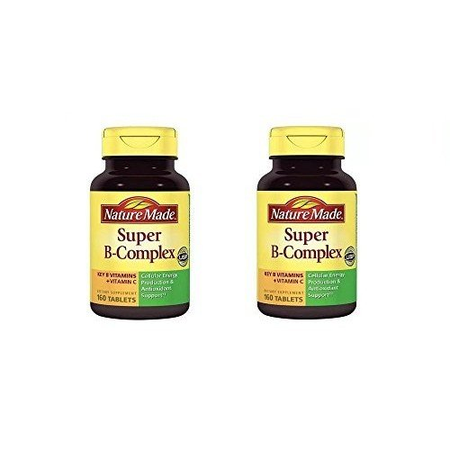 (Nature Made Super B Complex Tablets, 160 Count ( Pack of 2))